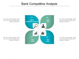 Bank Competitive Analysis Ppt Powerpoint Presentation Icon Slides Cpb
