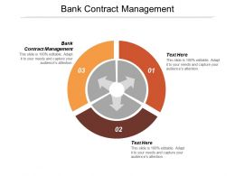 Bank Contract Management Ppt Powerpoint Presentation Pictures Good Cpb
