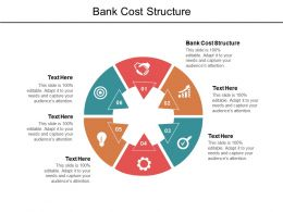 Bank Cost Structure Ppt Powerpoint Presentation Summary Template Cpb
