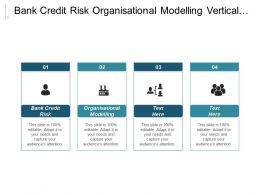 Bank Credit Risk Organisational Modelling Vertical Acquisition 3 C Marketing Cpb