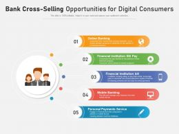 Bank Cross Selling Opportunities For Digital Consumers