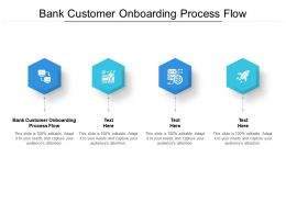 Bank Customer Onboarding Process Flow Ppt Powerpoint Presentation Styles Example Topics Cpb