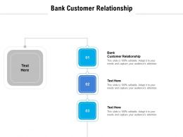 Bank Customer Relationship Ppt Powerpoint Presentation Icon Background Images Cpb