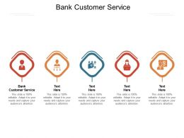Bank Customer Service Ppt Powerpoint Presentation Slides Tips Cpb