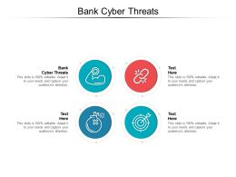 Bank Cyber Threats Ppt Powerpoint Presentation Inspiration Format Cpb