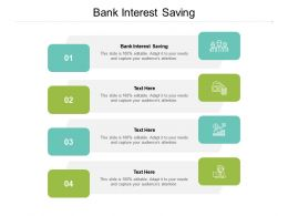 Bank Interest Saving Ppt Powerpoint Presentation File Example Introduction Cpb