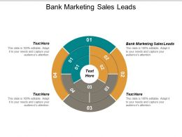 Bank Marketing Sales Leads Ppt Powerpoint Presentation Infographic Template Vector Cpb
