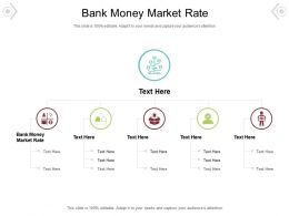 Bank Money Market Rate Ppt Powerpoint Presentation Layouts Background Image Cpb