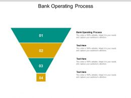 Bank Operating Process Ppt Powerpoint Presentation Ideas Slideshow Cpb