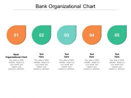 Bank Organizational Chart Ppt Powerpoint Presentation Outline Deck Cpb