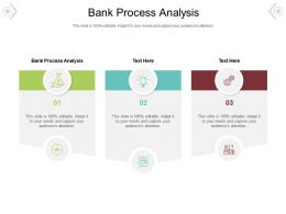 Bank Process Analysis Ppt Powerpoint Presentation File Graphics Design Cpb