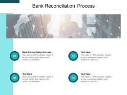 Bank Reconciliation Process Ppt Powerpoint Presentation Styles Files Cpb