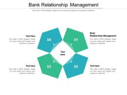Bank Relationship Management Ppt Powerpoint Presentation Styles Templates Cpb