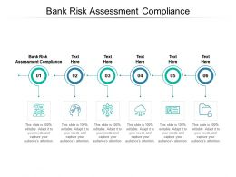 Bank Risk Assessment Compliance Ppt Powerpoint Presentation Portfolio Shapes Cpb