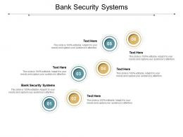 Bank Security Systems Ppt Powerpoint Presentation Professional Clipart Cpb