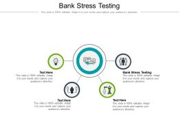 Bank Stress Testing Ppt Powerpoint Presentation Visual Aids Files Cpb