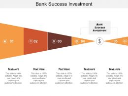 Bank Success Investment Ppt Powerpoint Presentation Gallery Introduction Cpb