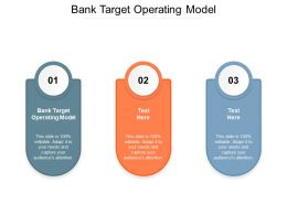 Bank Target Operating Model Ppt Powerpoint Presentation File Graphics Cpb
