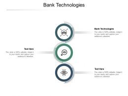 Bank Technologies Ppt Powerpoint Presentation Infographic Template Visuals Cpb