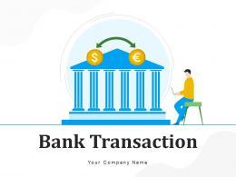 Bank Transaction Document Service Financial Direction Arrows