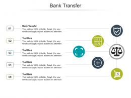 Bank Transfer Ppt Powerpoint Presentation Infographics Maker Cpb