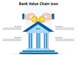 Bank Value Chain Icon