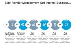 Bank Vendor Management Sell Internet Business Business Sell Cpb