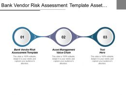 Bank Vendor Risk Assessment Template Asset Management Value Chain Cpb
