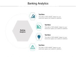 Banking Analytics Ppt Powerpoint Presentation Infographics Graphics Template Cpb