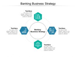 Banking Business Strategy Ppt Powerpoint Presentation Professional Graphic Tips Cpb