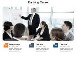 Banking Career Ppt Powerpoint Presentation Summary Mockup Cpb