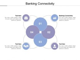 Banking Connectivity Ppt Powerpoint Presentation Styles Professional Cpb
