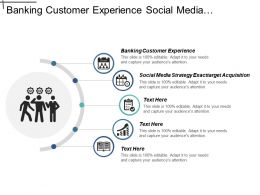 Banking Customer Experience Social Media Strategy Exact Target Acquisition Cpb