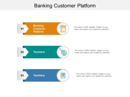 Banking Customer Platform Ppt Powerpoint Presentation Inspiration Elements Cpb
