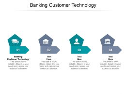 Banking Customer Technology Ppt Powerpoint Presentation Infographic Template Ideas