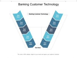 Banking Customer Technology Ppt Powerpoint Presentation Outline Microsoft Cpb