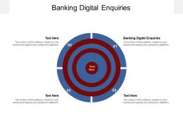 Banking Digital Enquiries Ppt Powerpoint Presentation Infographic Template Styles Cpb