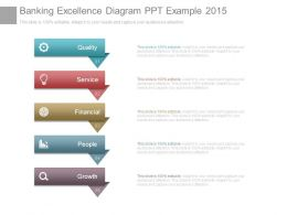 Banking Excellence Diagram Ppt Example 2015