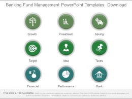 Banking Fund Management Powerpoint Templates Download
