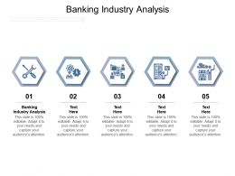 Banking Industry Analysis Ppt Powerpoint Presentation Example 2015 Cpb