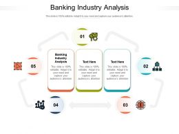 Banking Industry Analysis Ppt Powerpoint Presentation Icon Portfolio Cpb