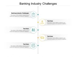 Banking Industry Challenges Ppt Powerpoint Presentation File Graphic Images Cpb