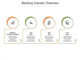 Banking Industry Overview Ppt Powerpoint Presentation Inspiration Design Inspiration Cpb