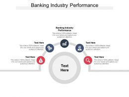 Banking Industry Performance Ppt Powerpoint Presentation Outline Example Introduction Cpb