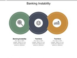 Banking Instability Ppt Powerpoint Presentation Icon Maker Cpb
