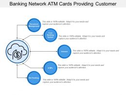 Banking Network Atm Cards Providing Customer