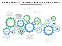 Banking Network Documents Risk Management Boxes