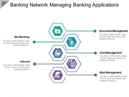 Banking Network Managing Banking Applications