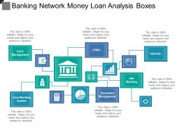 Banking Network Money Loan Analysis Boxes