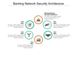 Banking Network Security Architecture Ppt Powerpoint Presentation Show Design Inspiration Cpb